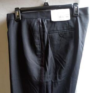 Tuxedo pants/satin side strip